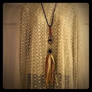 Jewelry - Long Boho Artisan Tassel Necklace